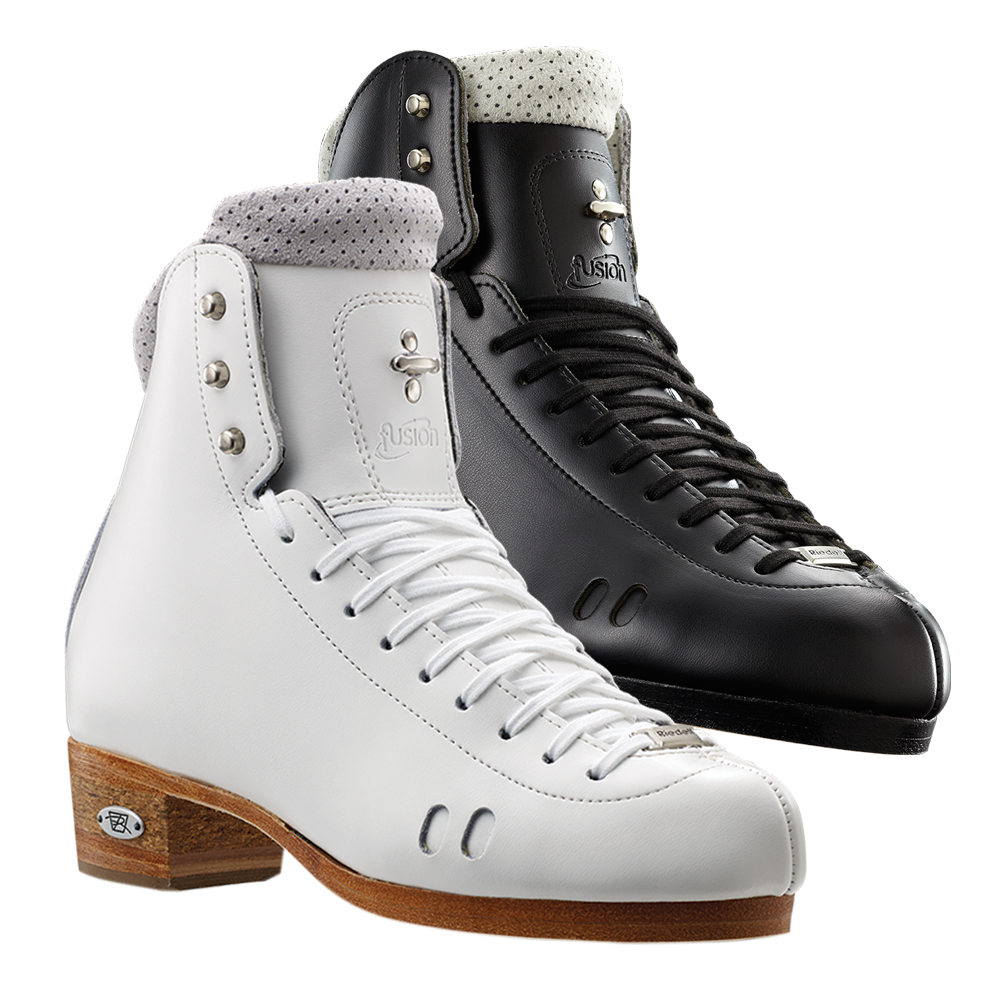 Riedell Model 2010 Fusion (Boot Only) - Black and White