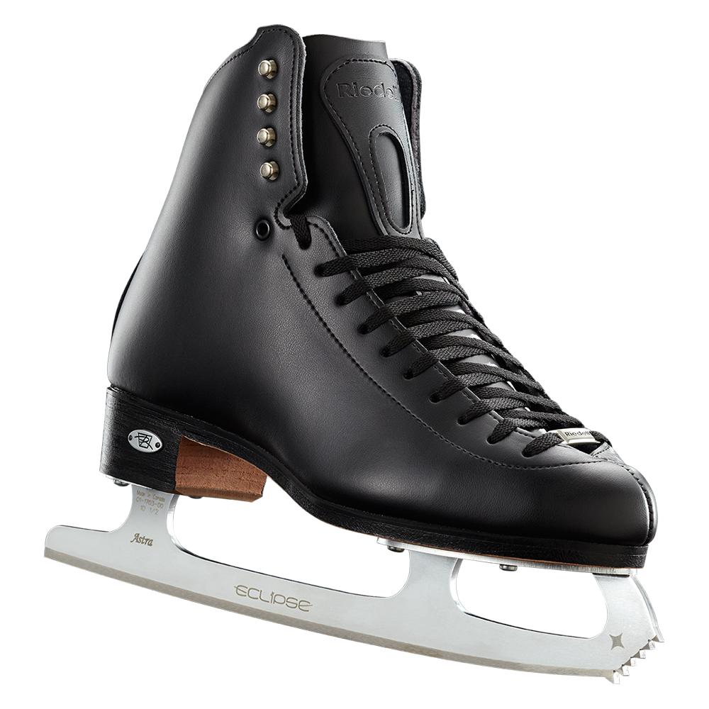 Riedell Model 229 Edge (Boot Only) - Black and White