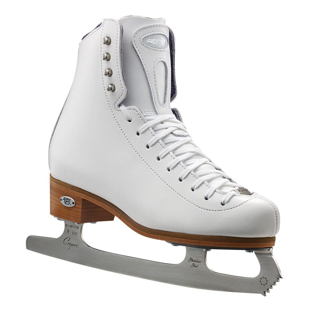 Riedell Model 23 Stride Jr. Skate Set - Black and White
