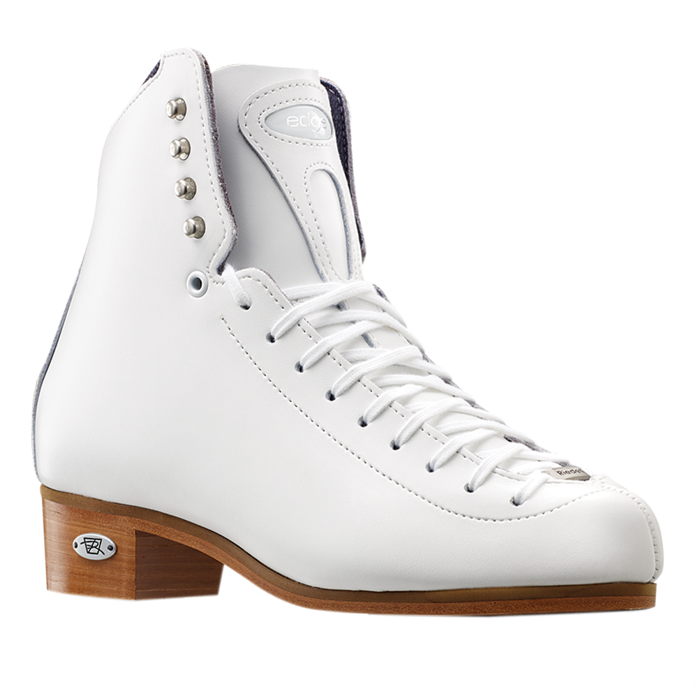 Riedell Model 29 Edge Jr. (Boot Only) - Black and White