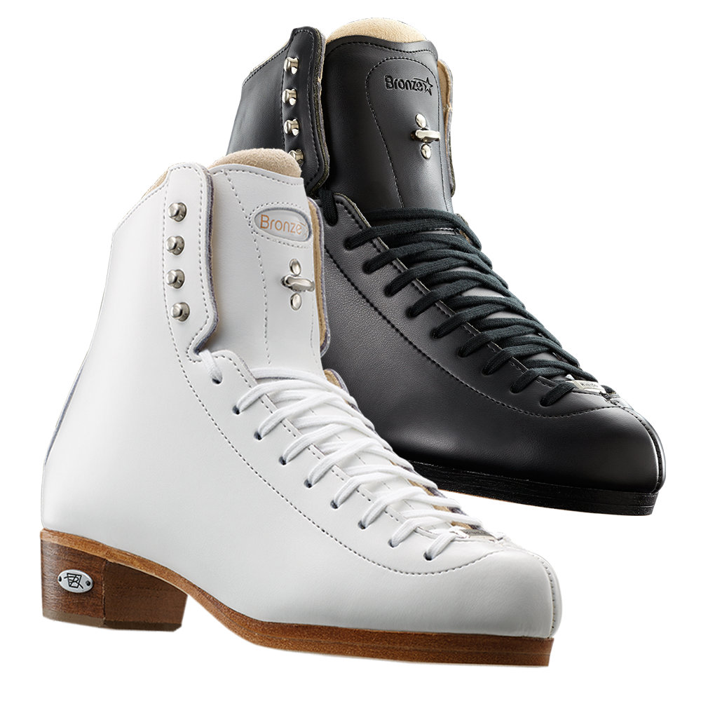 Riedell Model 43 Bronze Star (Boot Only) - Black and White
