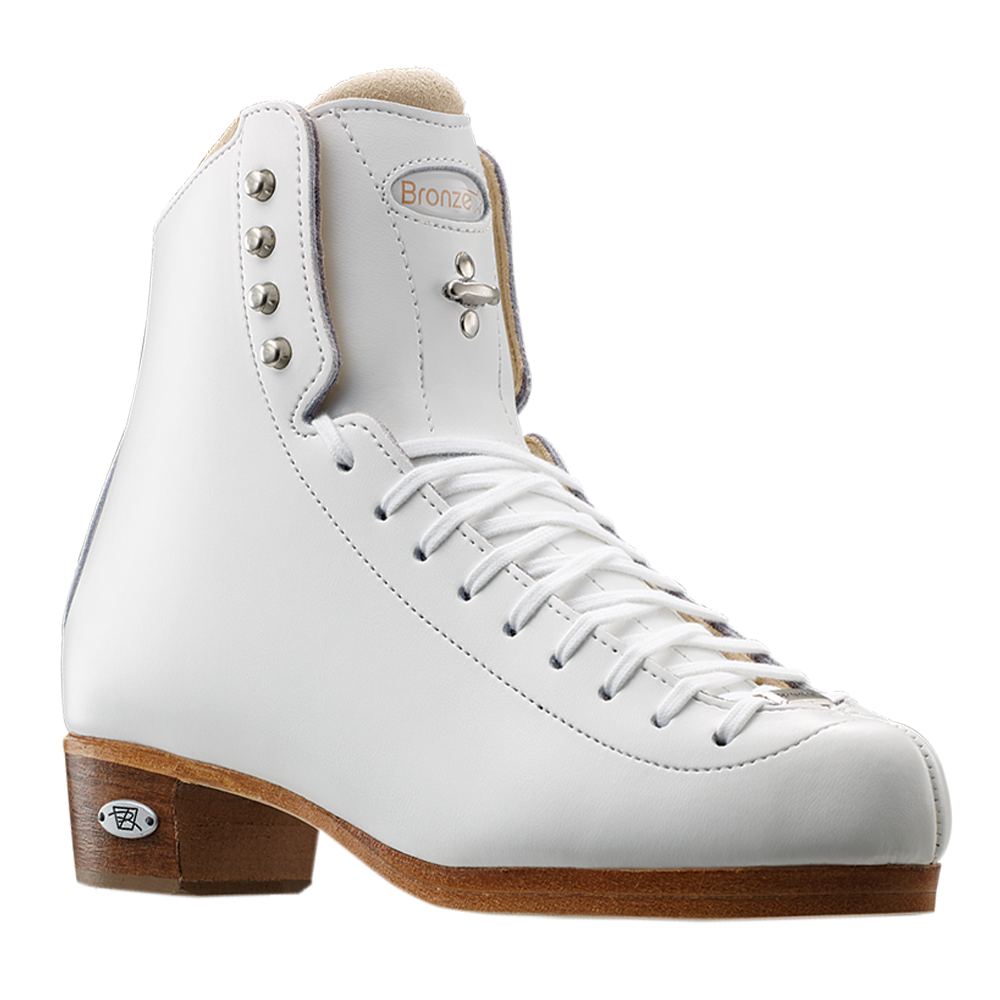 Riedell Model 435 Bronze Star (Boot Only) - Black and White