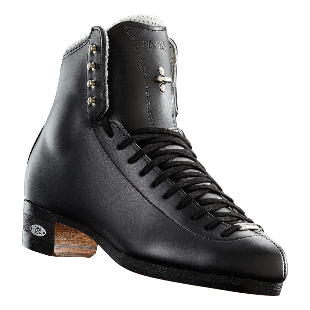Riedell Model 87 Silver Star (Boot Only) - Black and White