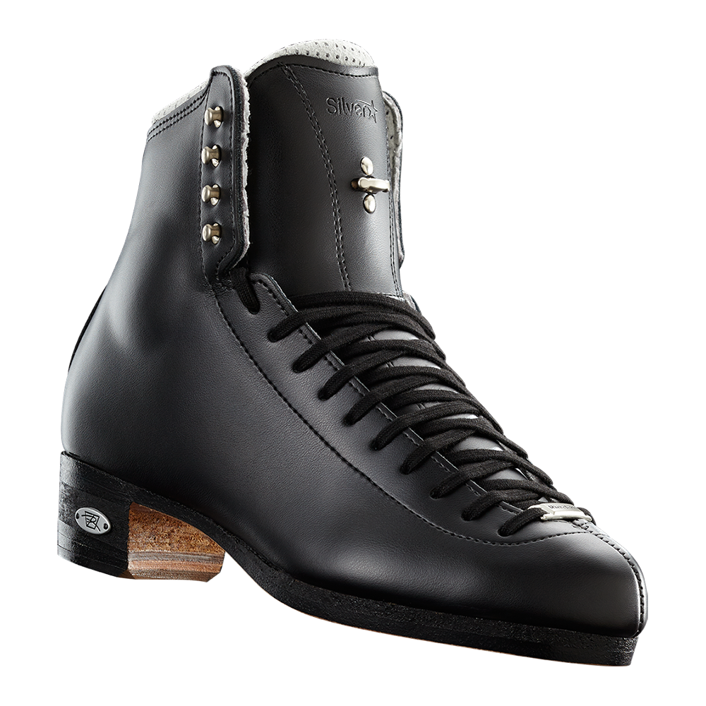 Riedell Model 875 Silver Star (Boot Only) - Black and White