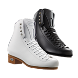 Riedell Model 23 Stride Jr. (Boot Only) - Black and White