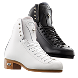 Riedell Model 25 Motion Jr. (Boot Only) - Black and White