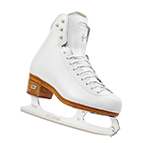 Riedell Model 4200 Dance (Boot Only) - White and Black