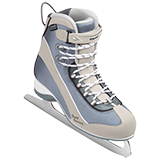 Riedell Model 715 SS Junior Skate Set - Tan-Blue