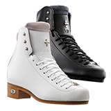 Riedell Model 91 Flair Jr. (Boot Only) - Black and White
