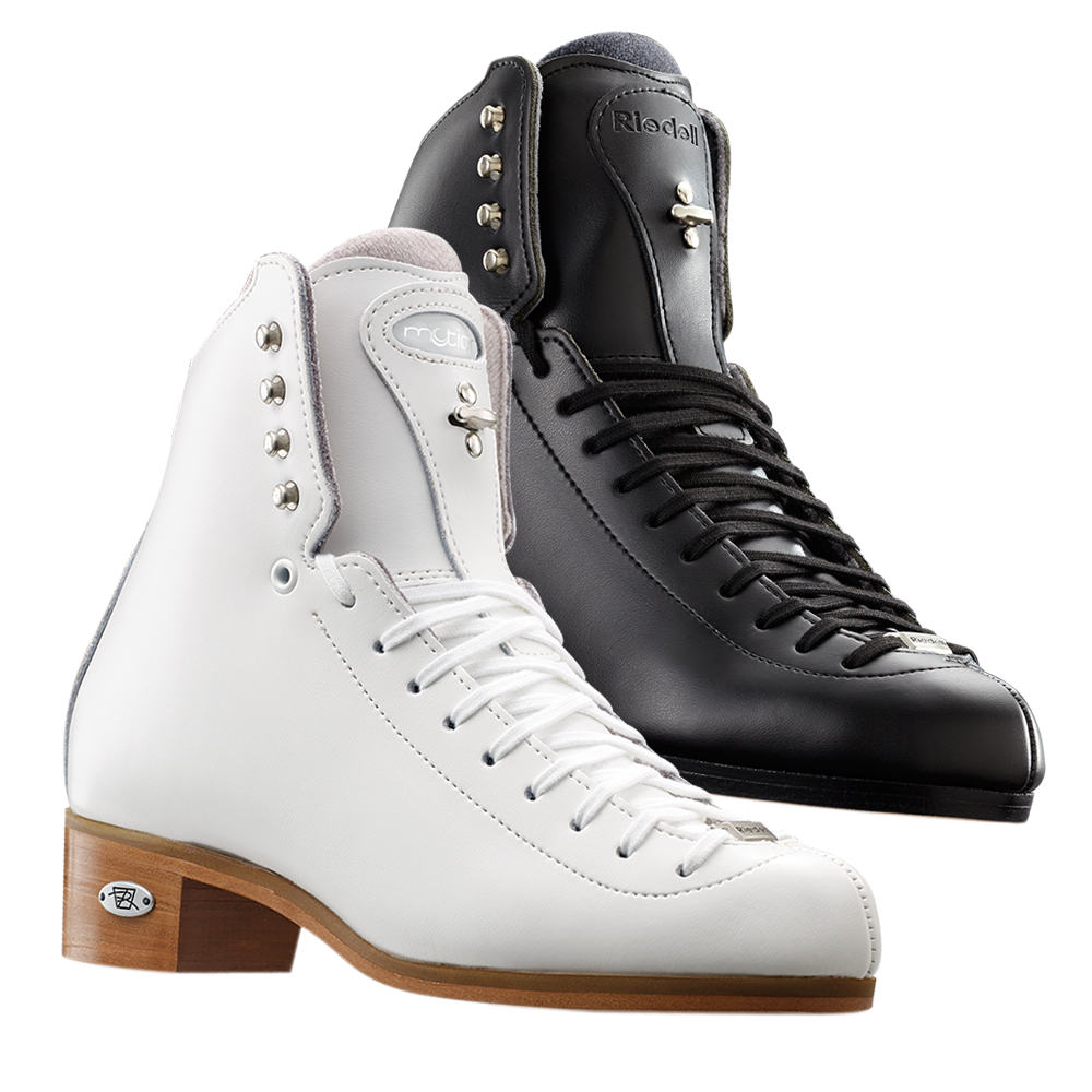 Riedell Model 255 Motion Jr. Skate Set - Black and White